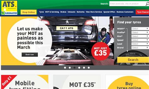 Ats Euromaster Discount Codes & Vouchers For 2017 At