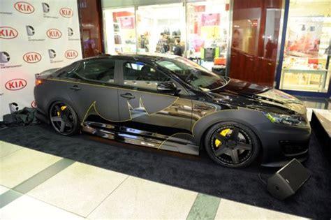 batman car real life batmobile from kia kicks off justice league cars