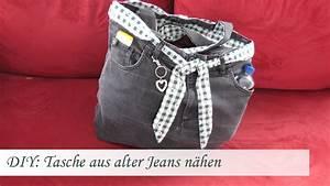 Nähen Aus Alten Jeans : diy einfache tasche n hen aus einer alten jeans f r n hanf nger youtube ~ Frokenaadalensverden.com Haus und Dekorationen