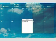 Create Events, Schedule Tasks & Change Wallpaper