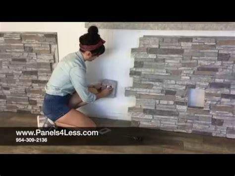 panelsless wallpanel installation youtube