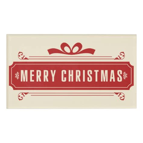 merry christmas picture with name merry christmas holiday name tag zazzle