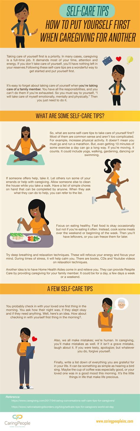 Self-Care Tips: How to Put Yourself First When Caregiving ...