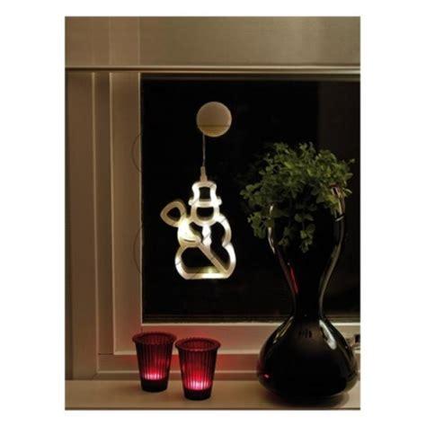 Batteriebetriebene Fensterdeko Weihnachten by Led Fensterbild Schneemann Batteriebetrieben