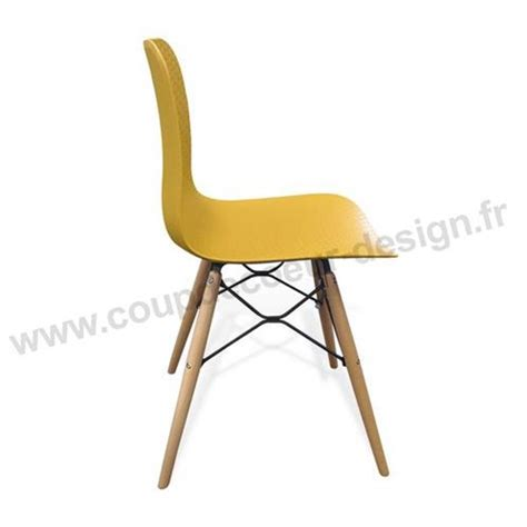 chaise moutarde chaise de cuisine scandinave moutarde dimento