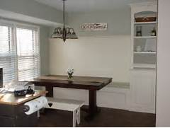 Dealing With Built In Kitchens For Small Spaces Remodelaholic Kitchen Renovation With Built In Banquette Seating