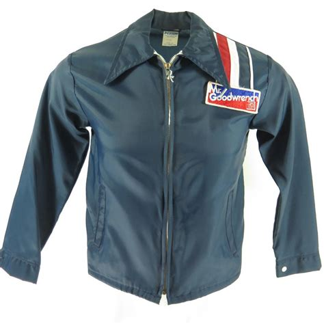 Racing Jacket by Vintage 80s Mr Goodwrench Racing Jacket Mens Xs Deadstock
