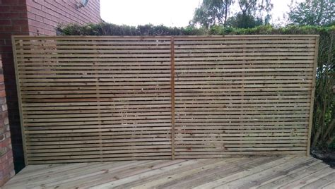 Slatted Screen Fencing Price List
