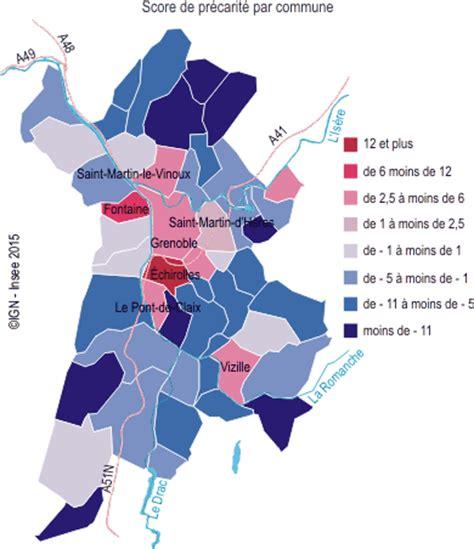 grenoble alpes m 233 tropole des signes de pr 233 carit 233 urbaine dans les plus grandes communes insee
