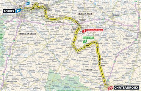 ⠀ rdv sur notre page facebook pour participer au jeu concours ! Tour de France 2021 Parcours etappe 6: Tours - Châteauroux