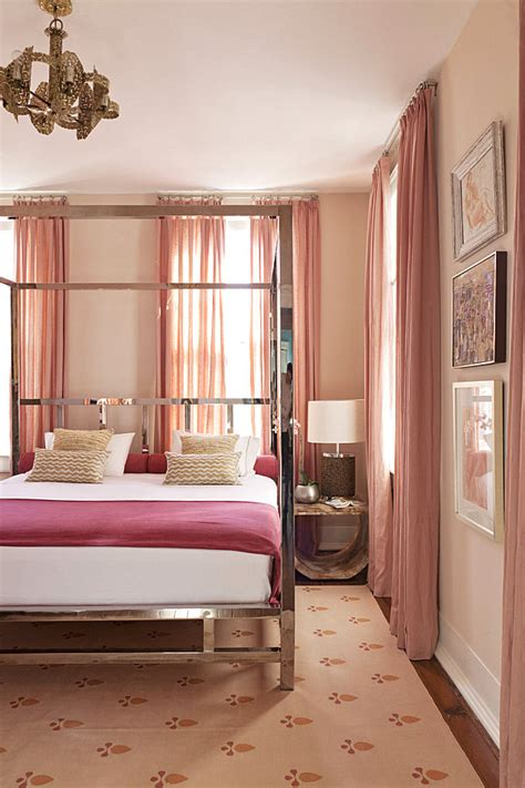shades of pink for bedroom walls his and hers feminine and masculine bedrooms that make a 20814