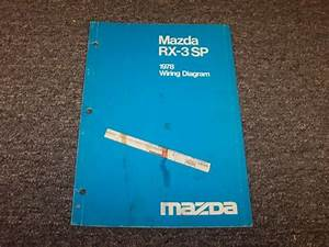 1978 Mazda Rx3 Sp Coupe Factory Original Electrical Wiring
