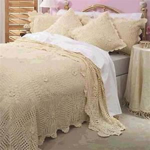 Lace Bed Covers - Knitting, Crochet, Dıy, Craft, Free