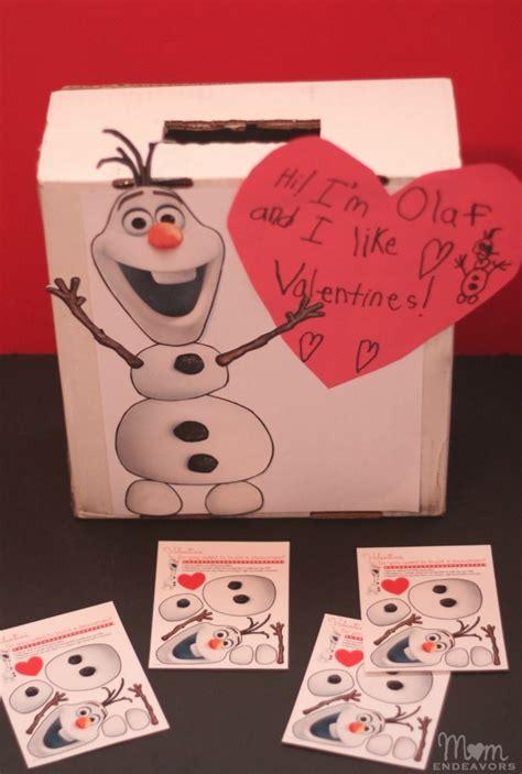 disneys frozen olaf valentines mailbox