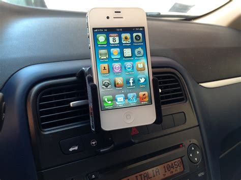 Porta Iphone Da Auto by Brodit Il Supporto Per Iphone Da Auto Configurabile