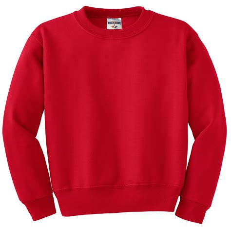 crewneck sweater jerzees 8 oz nublend 50 50 youth crewneck sweatshirt 562b