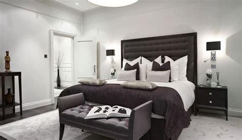 eleganti camere da letto  bianco  nero mondodesignit