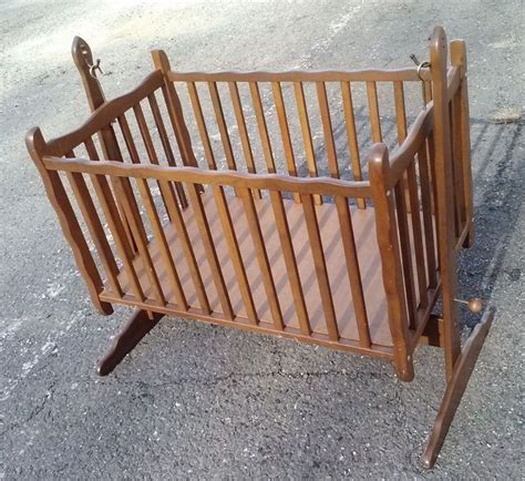 baby rocking crib 1000 images about vintage baby cribs carriages and