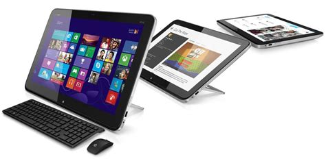 ordinateur de bureau tactile hp kündigt hybrid aus all in one pc und 20 zoll tablet an