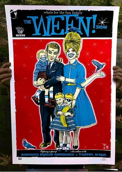 Ween Oregon Zoltron Poster Primus Fun Edition