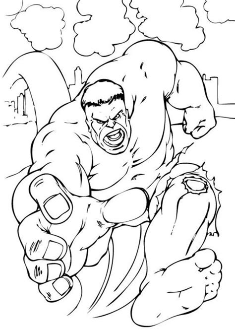 incredible hulk coloring pages  kids disney