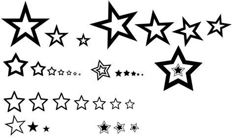small star tattoos designs  ideas