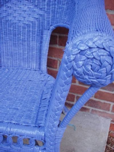 feast your this blue color color color painting wicker furniture painted wicker