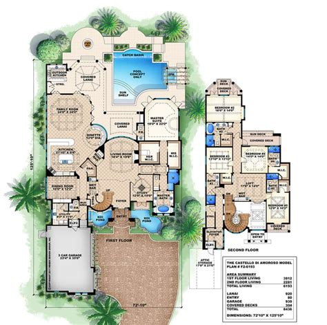 floor plans exles focus homes - Homes Floor Plans With Pictures