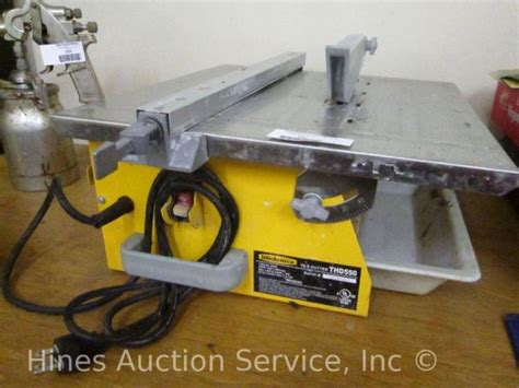 Workforce Tile Saw 7 Blade Thd550 workforce tile cutter model thd550 7 blade