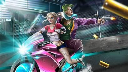 Quinn Harley Joker 4k Wallpapers Artwork Backgrounds