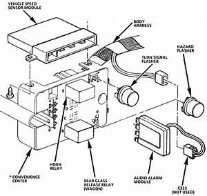 The  U0026quot Open Door U0026quot  Light In My 1993 Chevy Caprice Wagon Has A