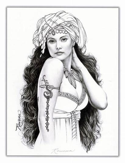 Rowena Artist Morrill Scheherazade