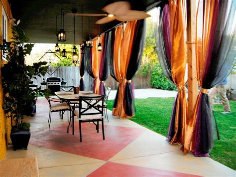 etch and stain a pattern concrete patio hgtv