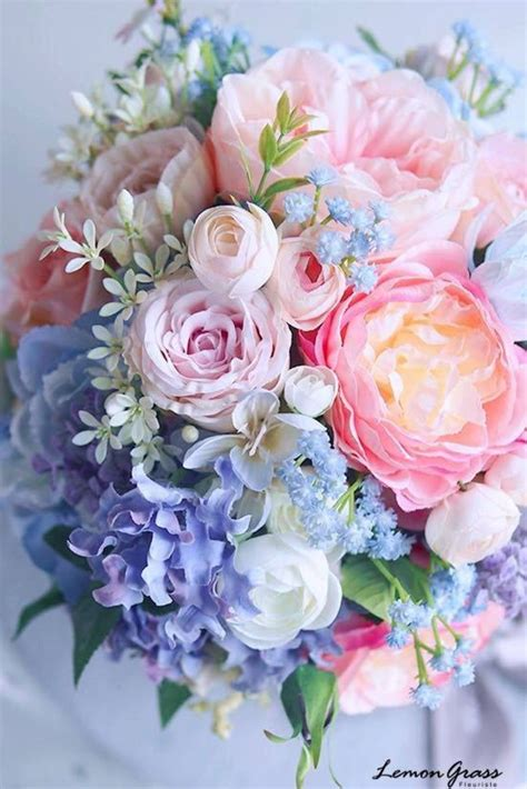 Bouquet For A Spring Wedding Flowers Flowers Wedding