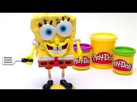Play Doh Spongebob Squarepants Playset Mold a Sponge
