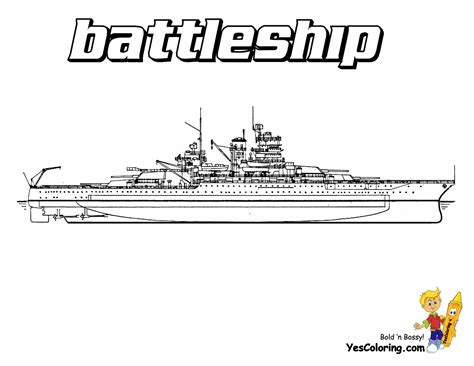 unflinching navy ship coloring page  ships