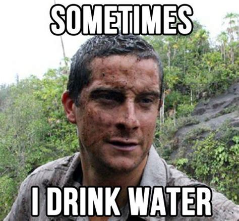 Bear Grylls Meme - trending bear grylls mode the ultimate guide to surviving the great outdoors entertainment ie