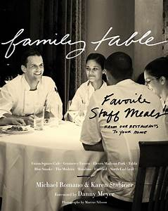 Family Table: Favorite Staff Meals cookbook