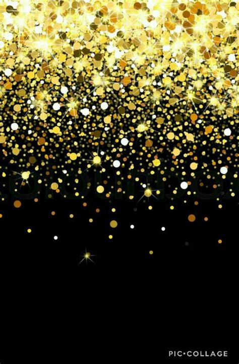 black  gold confetti wallpaper wallpaper confetti