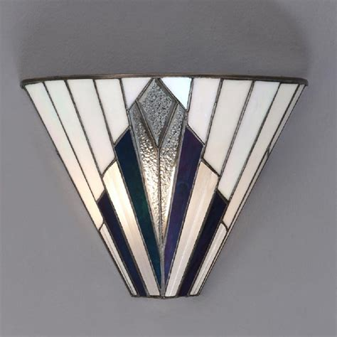 astoria uplighter wall washer wall light in deco style