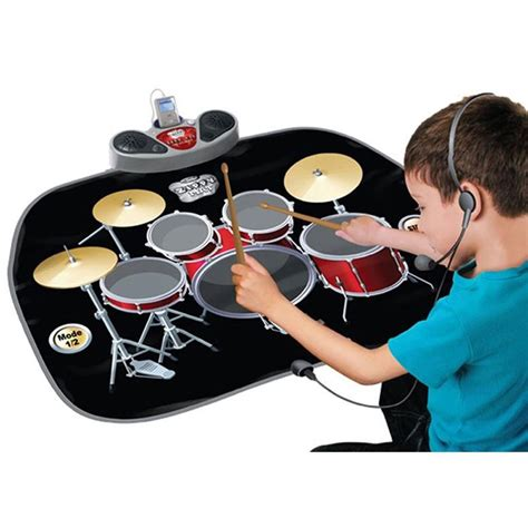 tappeto da gioco tappeto strumento musicale batteria per percussioni