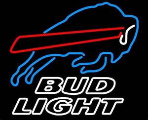 NFL Bud Light Buffalo Bills Neon Light Sign 16