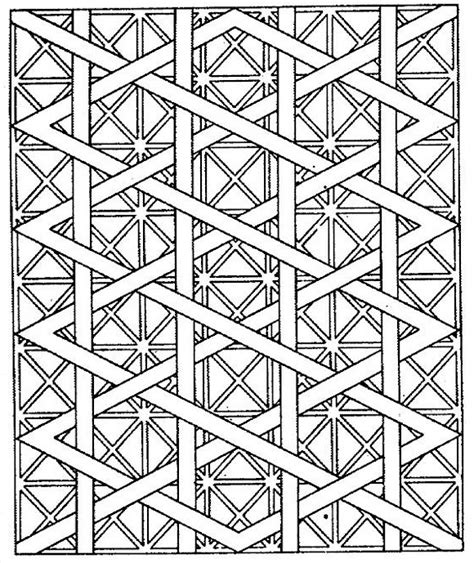 designs to color 41 awesome and free geometric coloring pages for adults