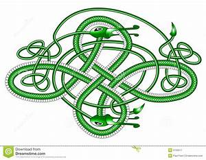 Celtic Knot Dragon; Royalty Free Stock Photography - Image ...