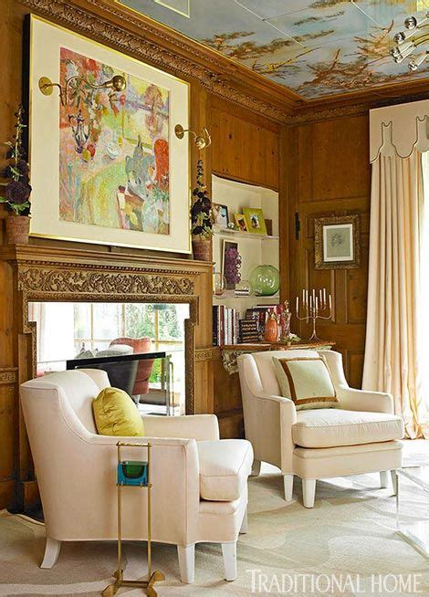 Dramatic Showhouse Rooms by Dramatic Showhouse Rooms In 2019 Library Classic Home