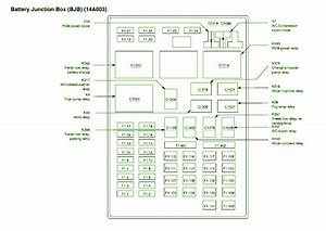 2002 Ford F150 Main Fuse Box Diagram  U2013 Schematic Diagrams