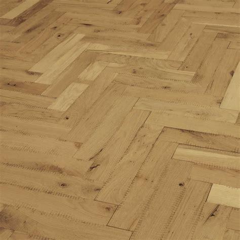 Unfinished Parquet Oak Solid Wood Flooring   Direct Wood