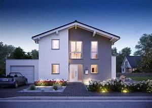 Haus Mit Satteldach 25 Grad : familienhaus vero satteldach mit flacher dachneigung ~ Lizthompson.info Haus und Dekorationen