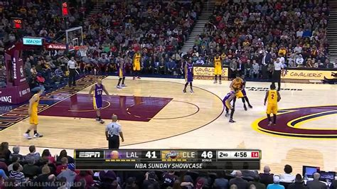la lakers  cleveland cavaliers full highlights