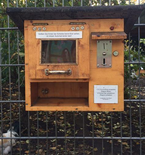 vending machine dispenses urban farm eggs